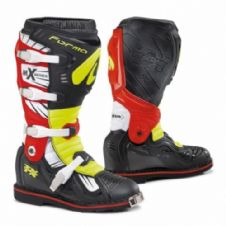 BOOT TERRAIN TX 2.0 BLACK/FLUO YELLOW/RED